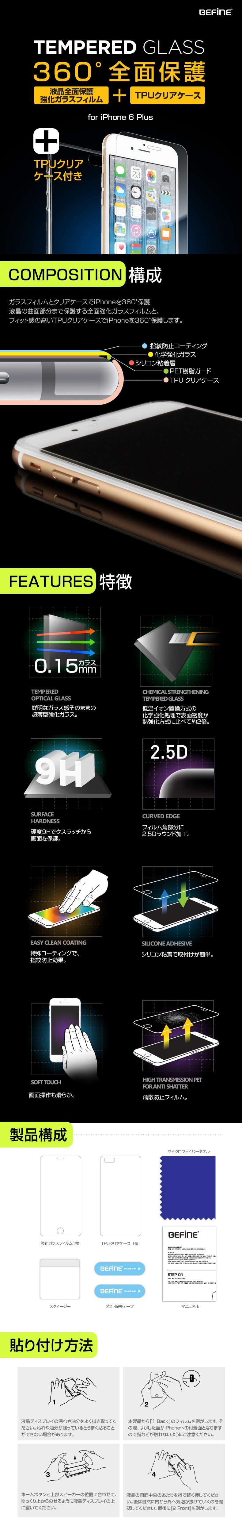 商品詳細-iPhone6 Plusフィルム専用ケース