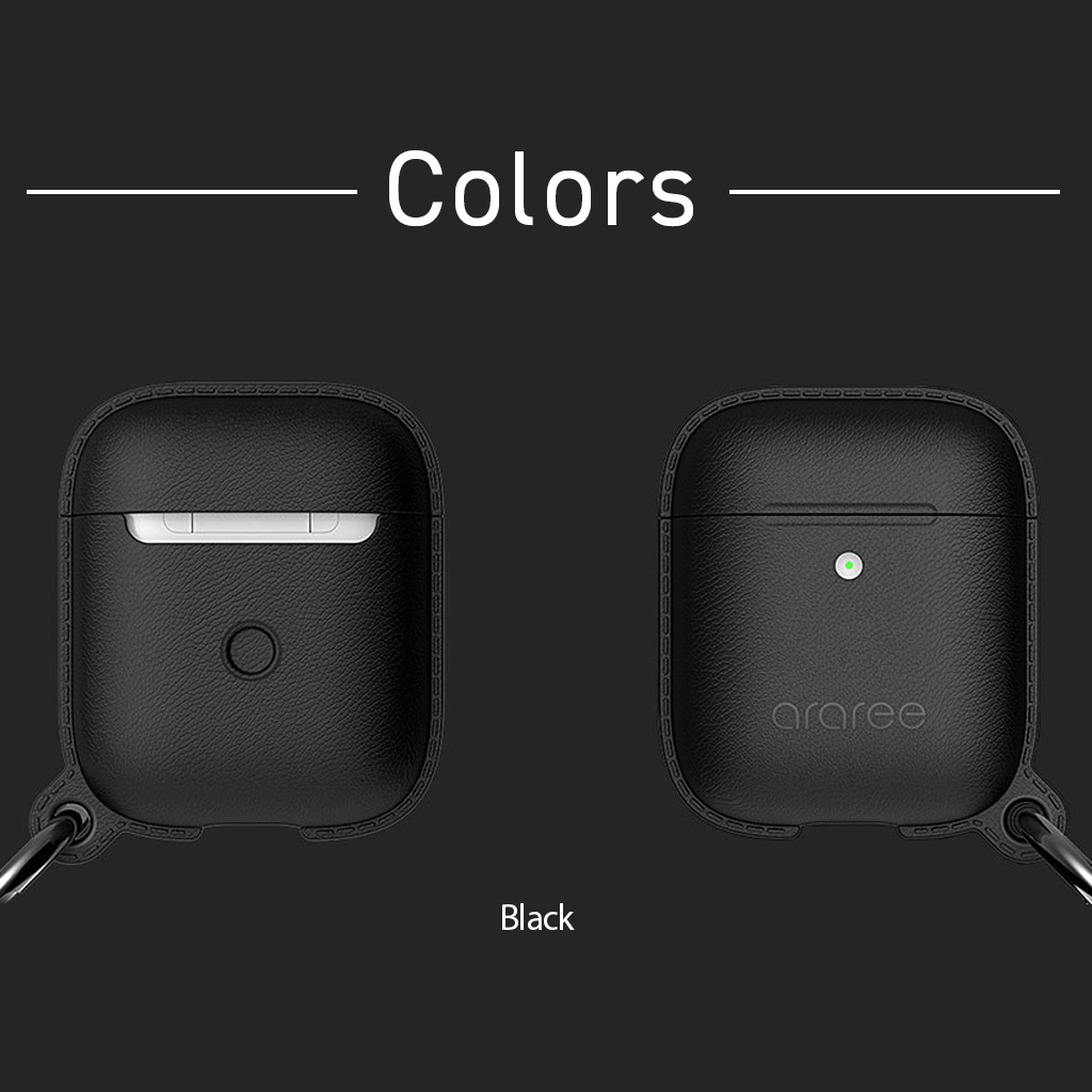 AirPods Case POPS <Wireless Charging Case専用>ブラック