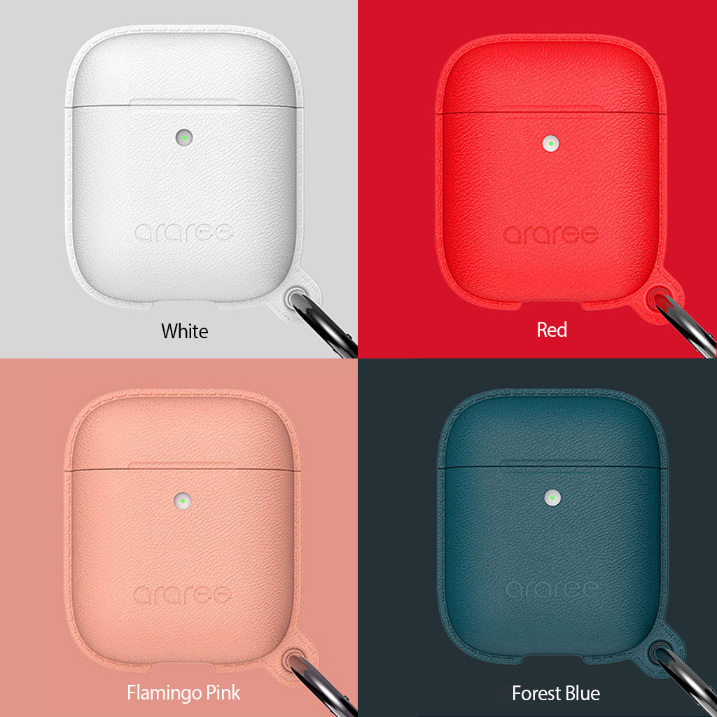 AirPods Case POPS <Wireless Charging Case専用>ホワイト、レッド、ピンク、ブルー