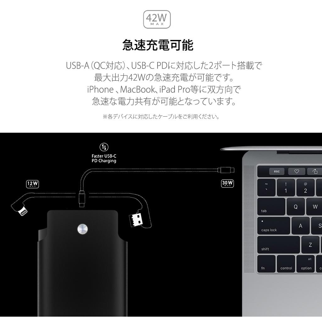USB-Aポート搭載機器とMacBookを接続可能