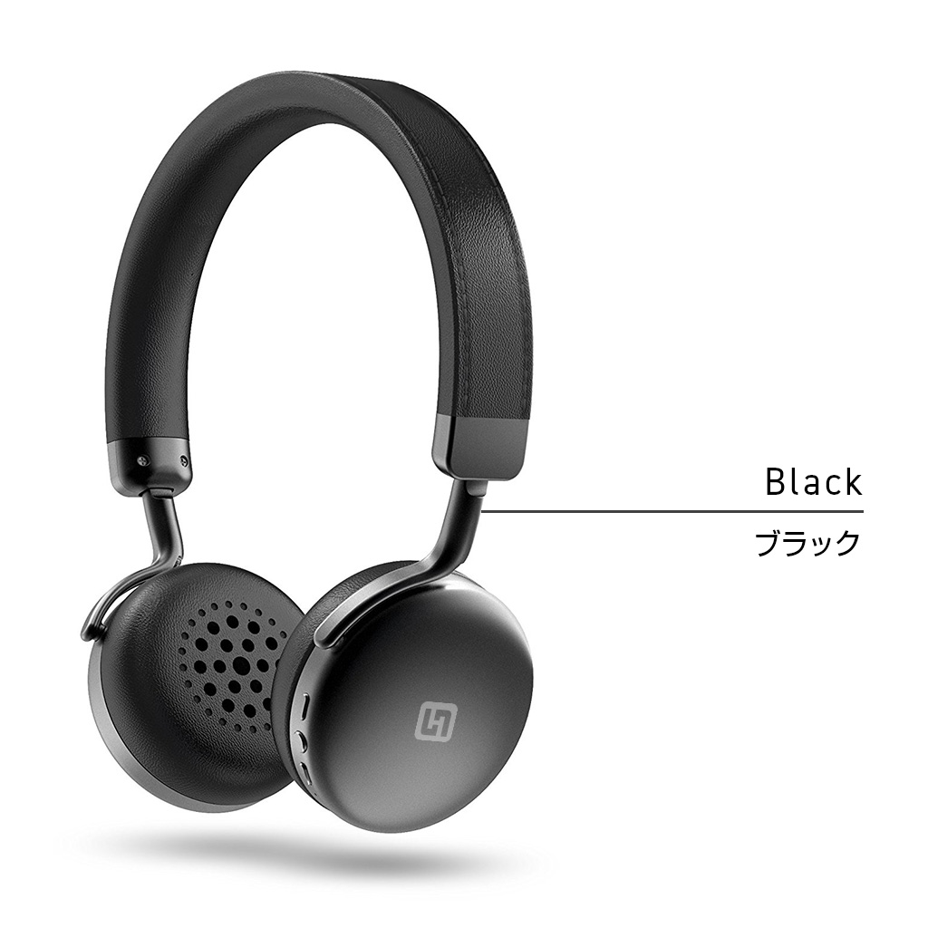 Bluetoothヘッドフォン TURBO2 ブラック