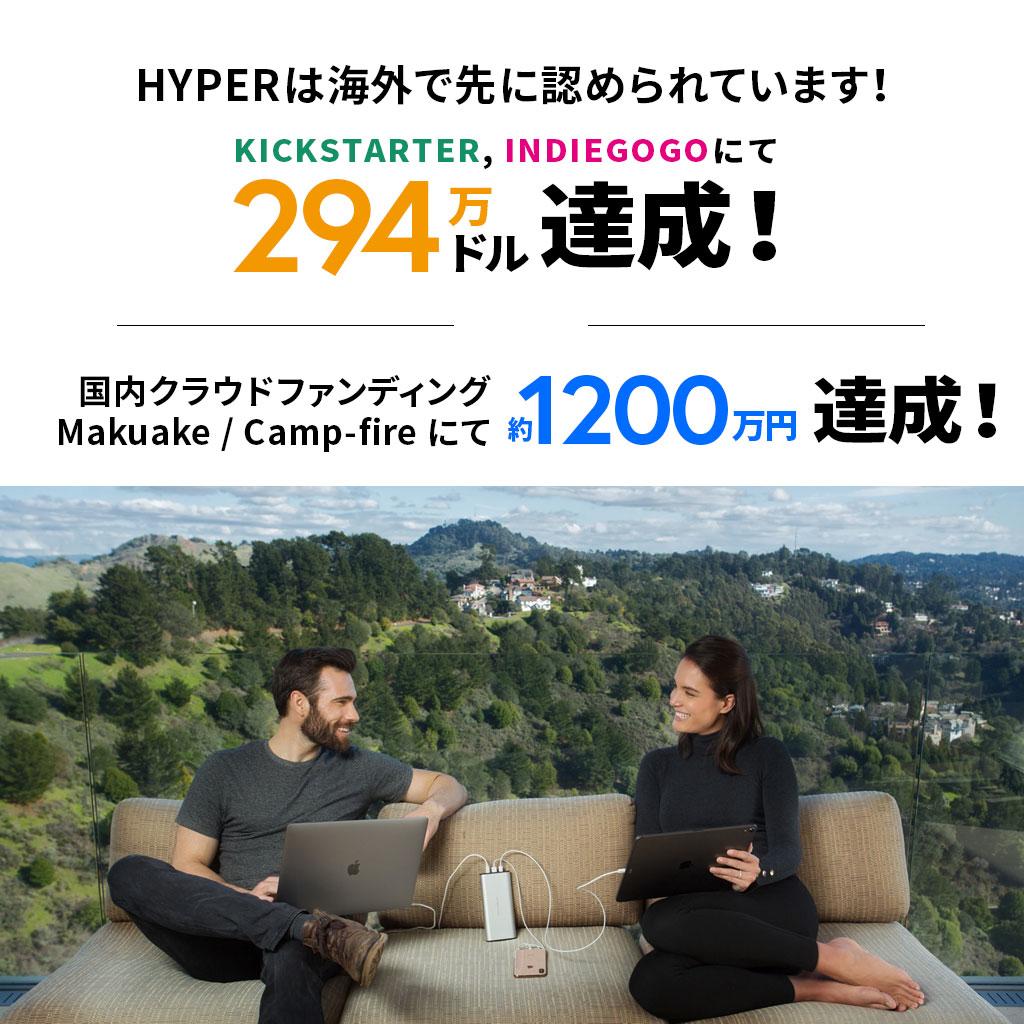 HYPERは海外で先に認められてます。