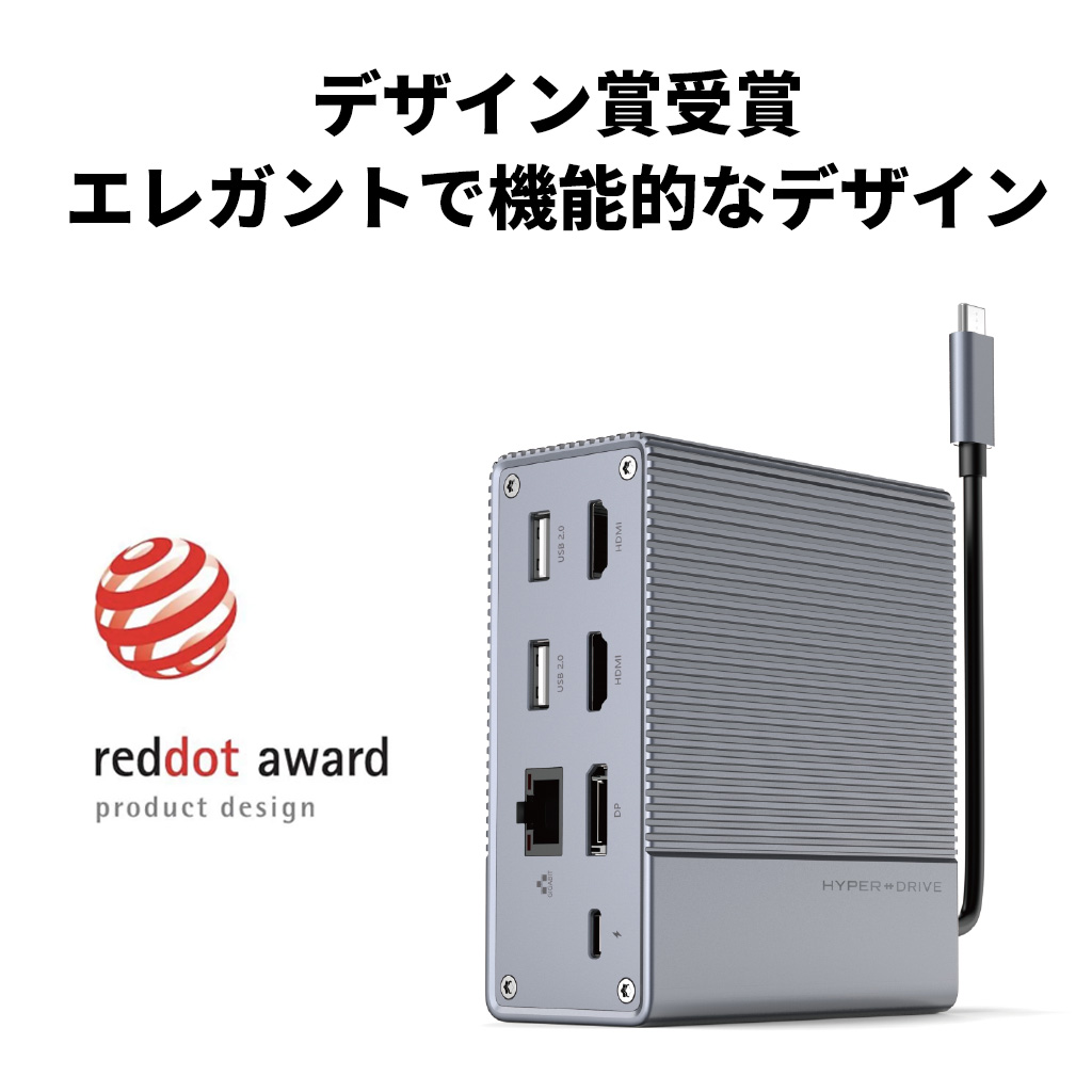 reddot デザイン賞を受賞