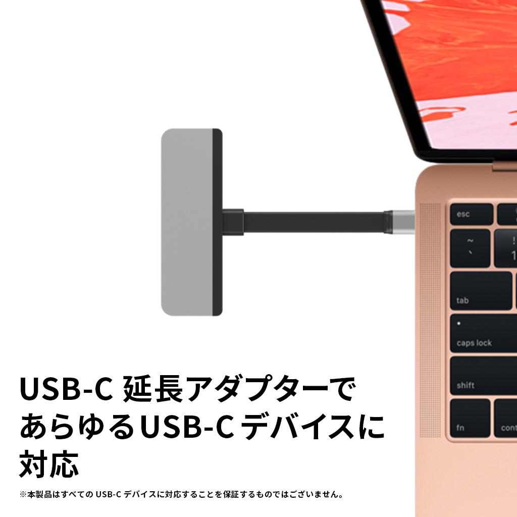 あらゆるUSB-Cデバイスに対応