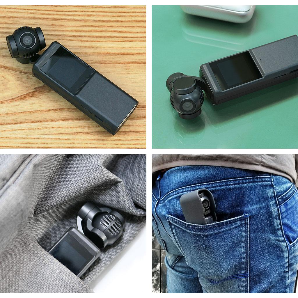ポケットジンバルはコンパクトなのでポケットに収納可能