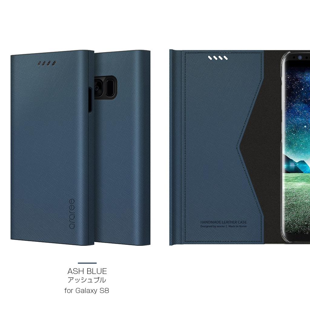 Galaxy S8 ケース 手帳型