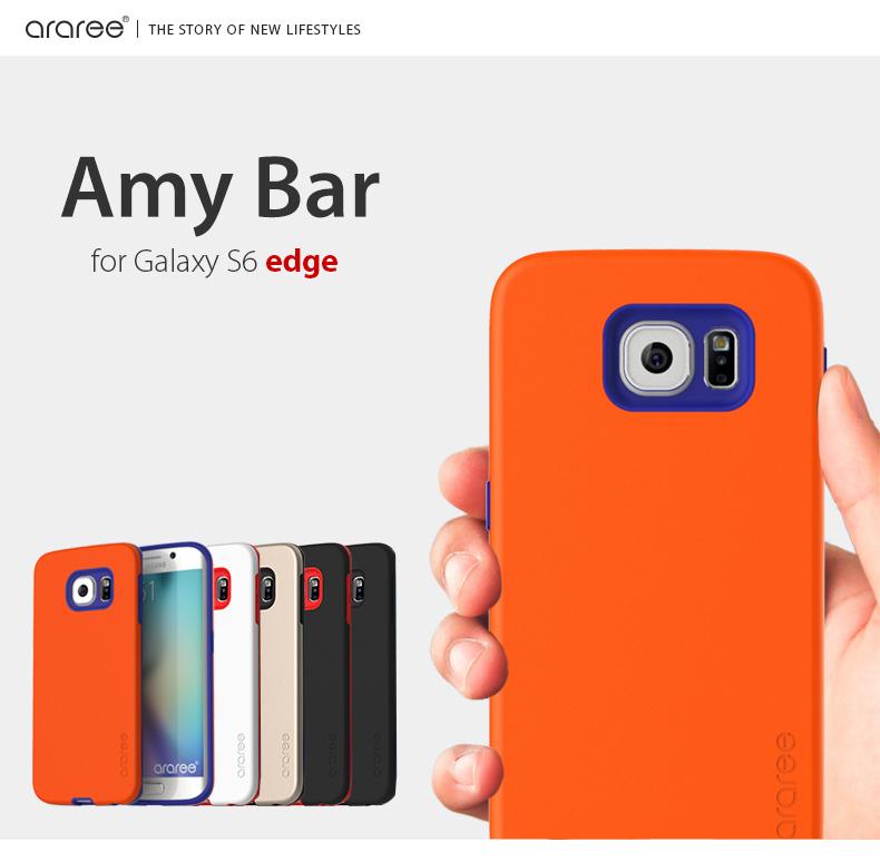 楽天市場 galaxy s6 edge ケース araree amy bar アラリー エイミーバー