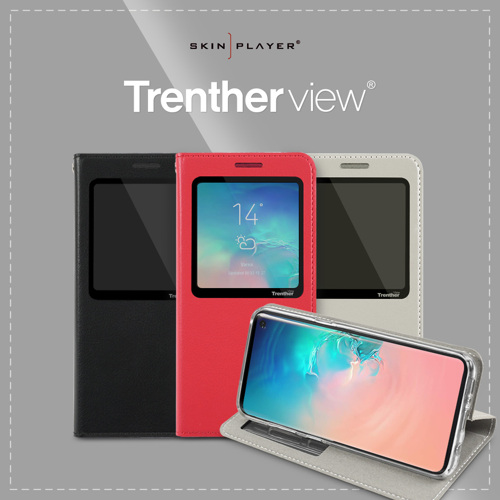 SKINPLAYER Trenther view手帳型