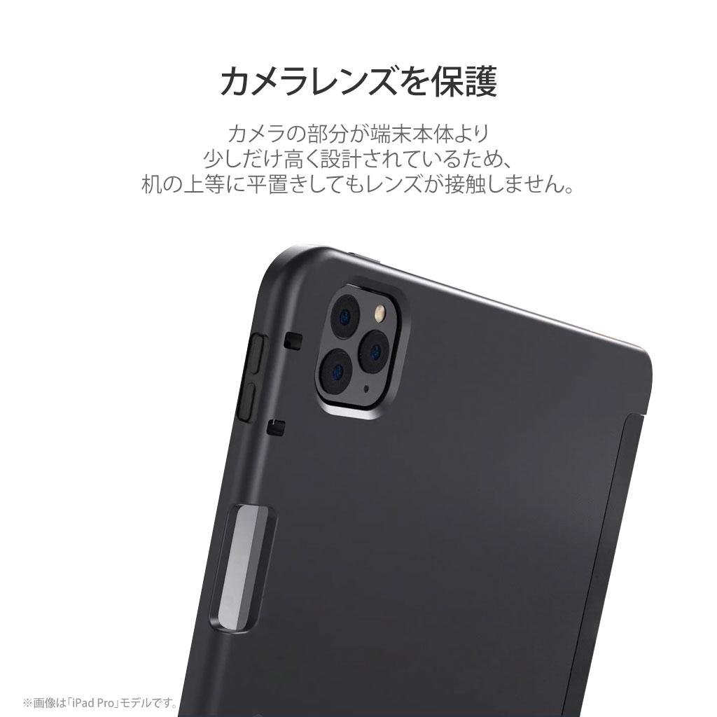 カメラレンズを保護する設計
