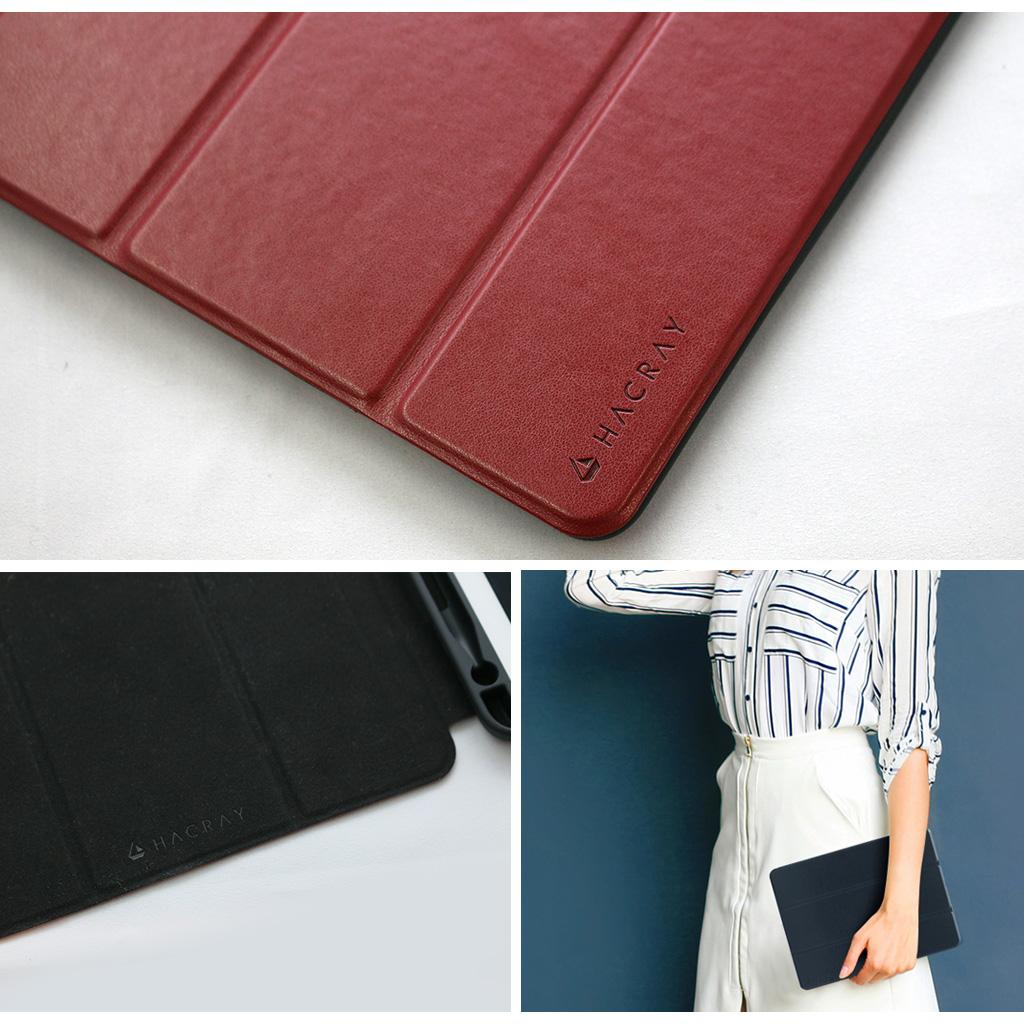 iPad 9.7インチ専用 ペンホルダー付きSmart Folio Case ブラック