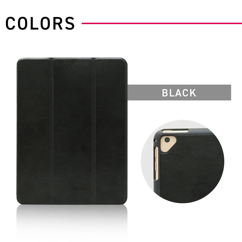 iPad 9.7インチ専用 ペンホルダー付きSmart Folio Case ワイン