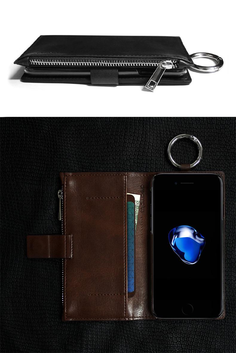 バッグやベルトなどに装着できる実用的なリング付き