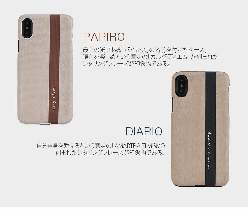 Man&Wood Papiro/Diario