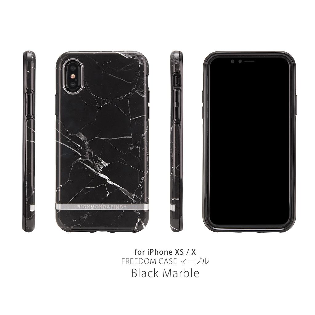 24b663fccb iPhone XS / X ケース Richmond & Finch FREEDOM CASE マーブル ...