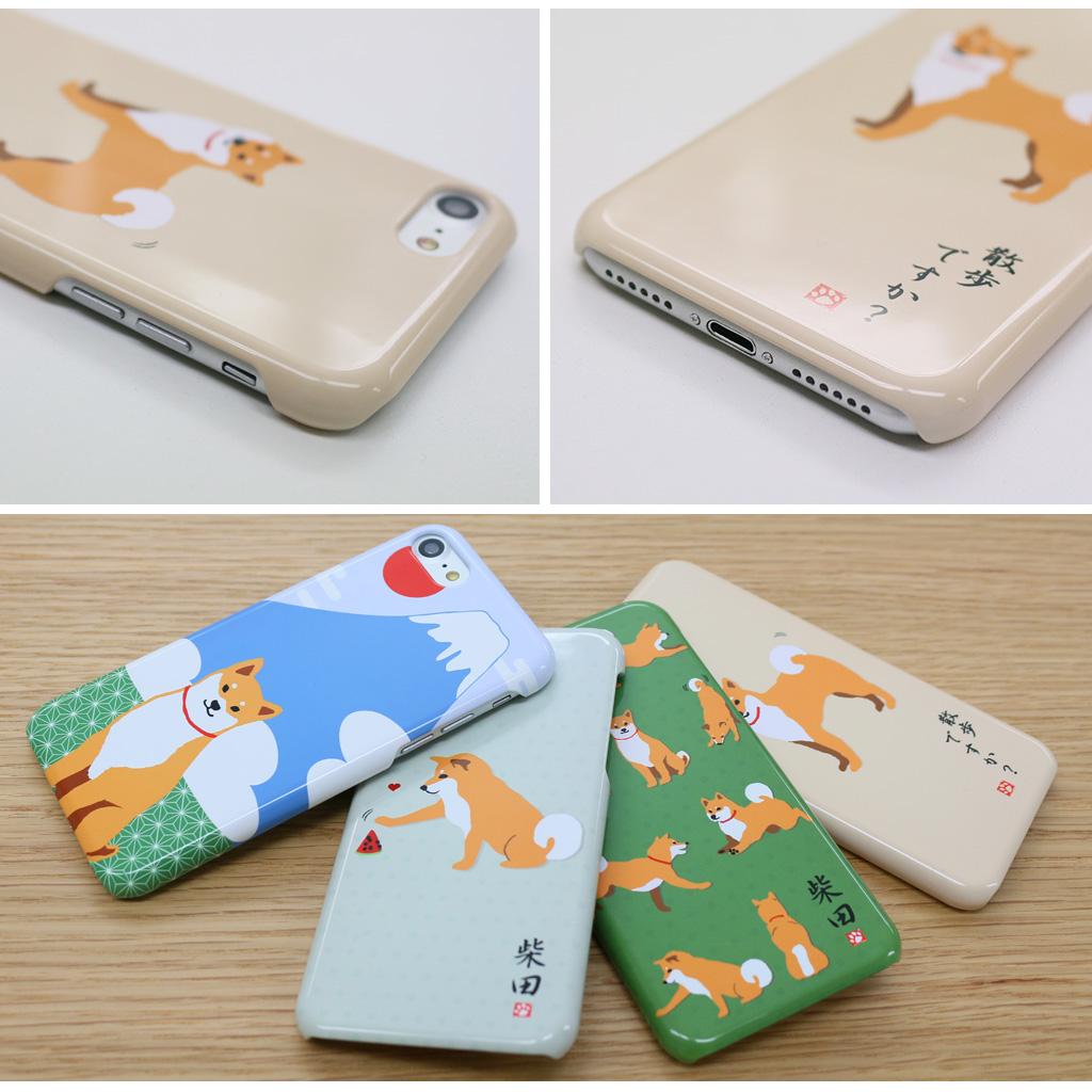 iPhone8/7 しばたさんケース 富士山
