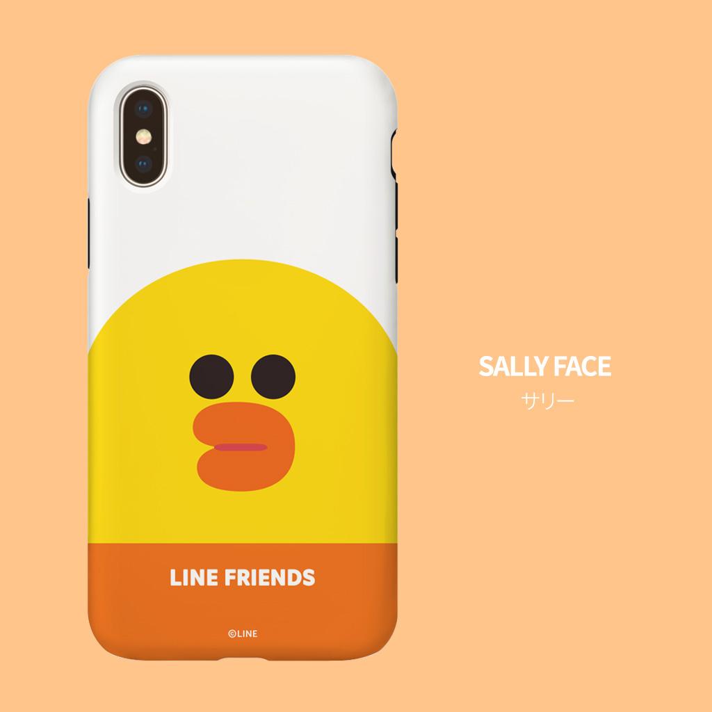 LINE FRIENDSケース フェイス コニー