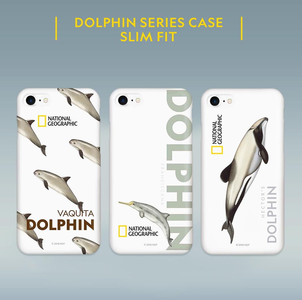 National Geographic Dolphin Series Case Slim Fit Hard(ナショナル ジオグラフィック ドルフィンシリーズ ケース スリムフィットハード)