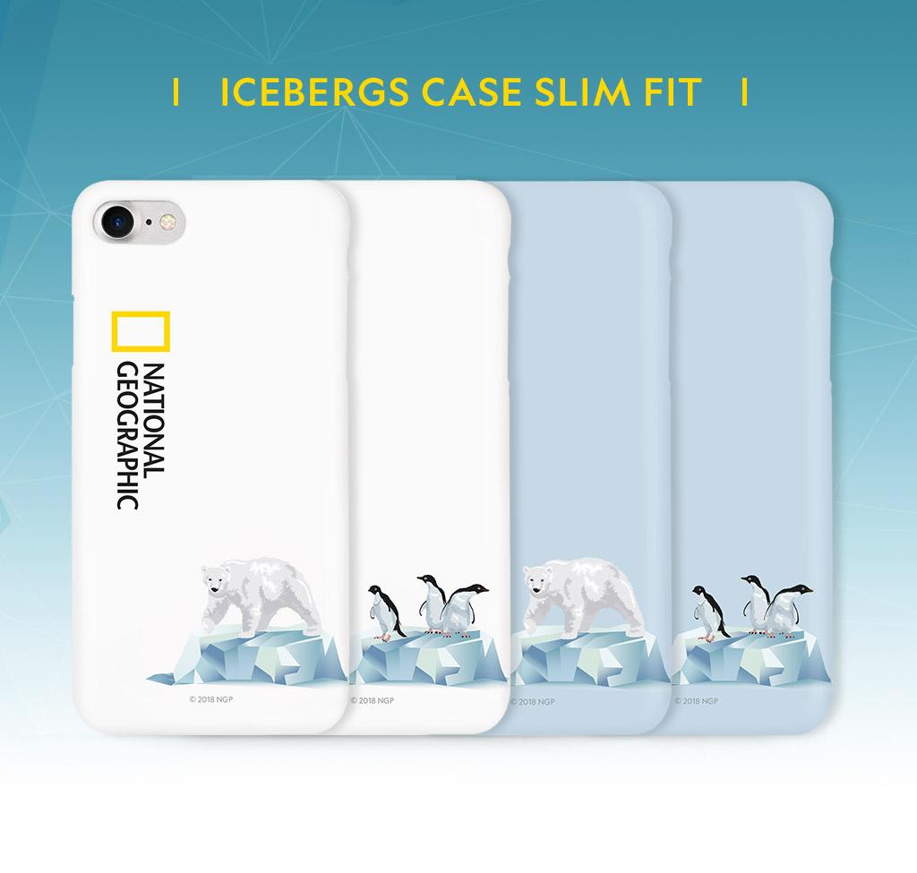 National Geographic Icebergs Case Slim Fit(ナショナル ジオグラフィック アイスバーグケース スリムフィット)