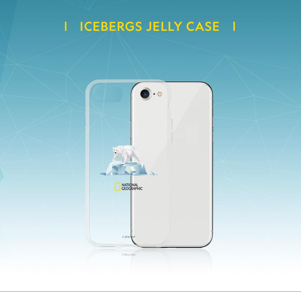 National Geographic Icebergs Case Jelly(ナショナル ジオグラフィック アイスバーグケース ゼリー)