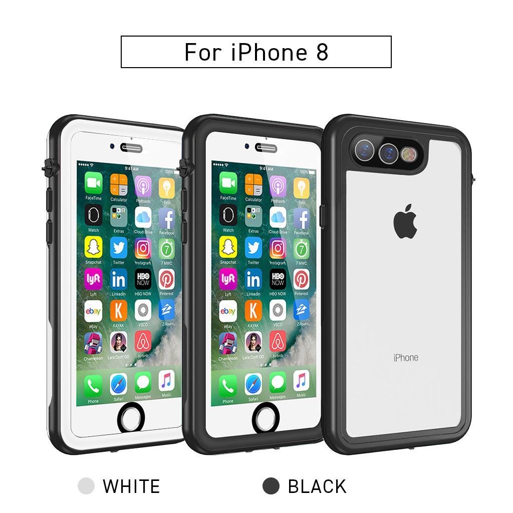 透明 防水ケース iPhone 8 / 7 / 8 Plus / 7 Plus 専用
