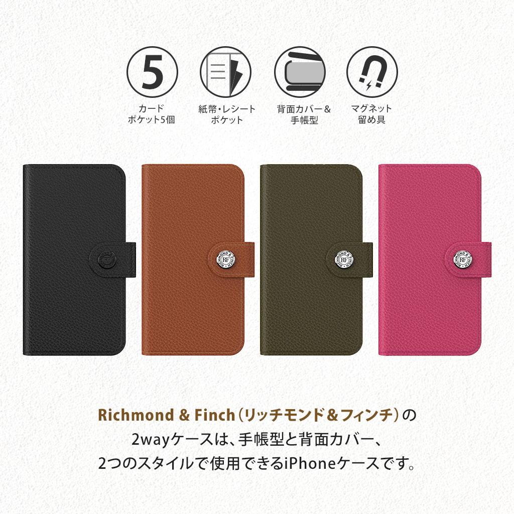 iPhoneSE第2世代背面カバーと手帳型の2wayで使用できる