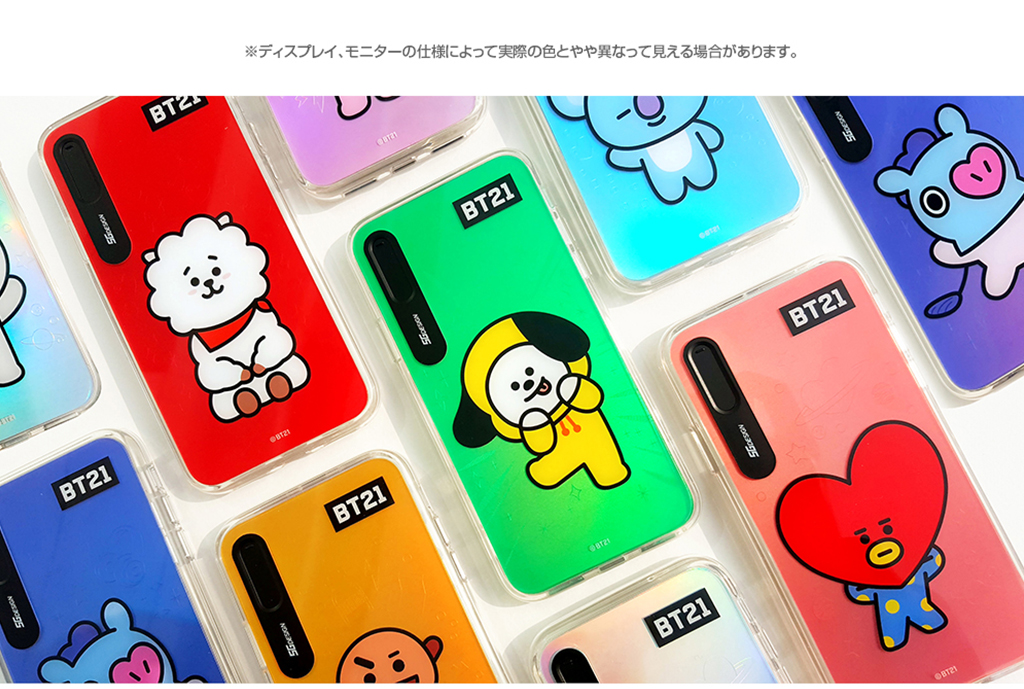 iPhone X BT21 GRAPHIC LIGHT UP CASE COOKY