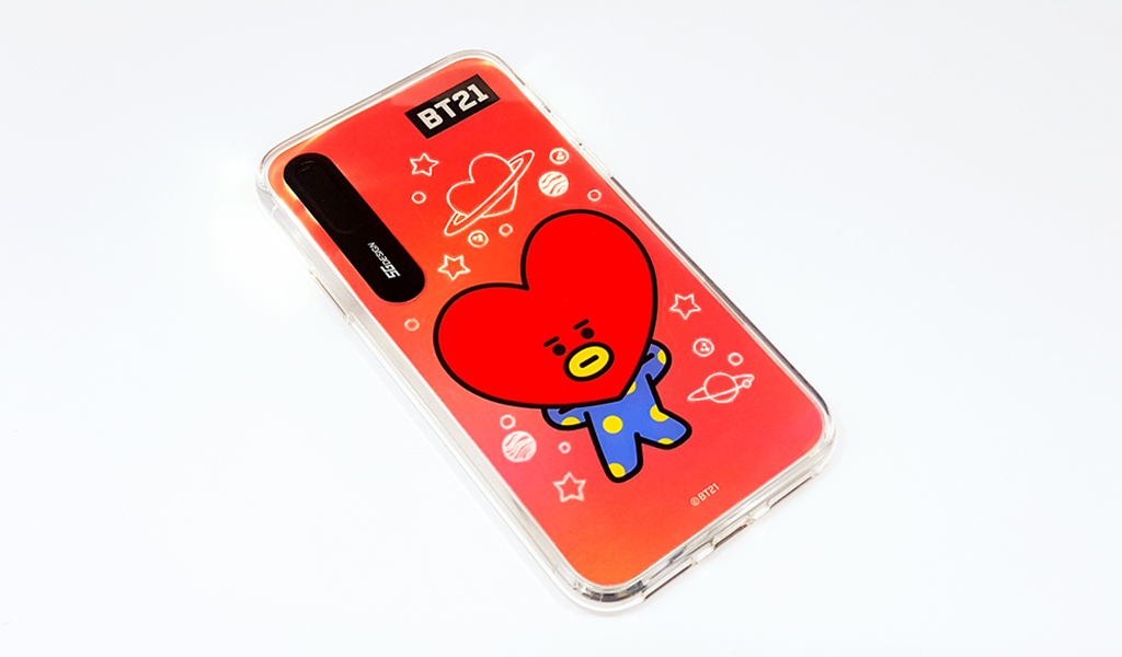 iPhone X BT21 GRAPHIC LIGHT UP CASE MANG