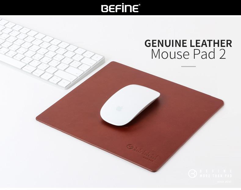 マウスパッド 本革 BEFiNE
