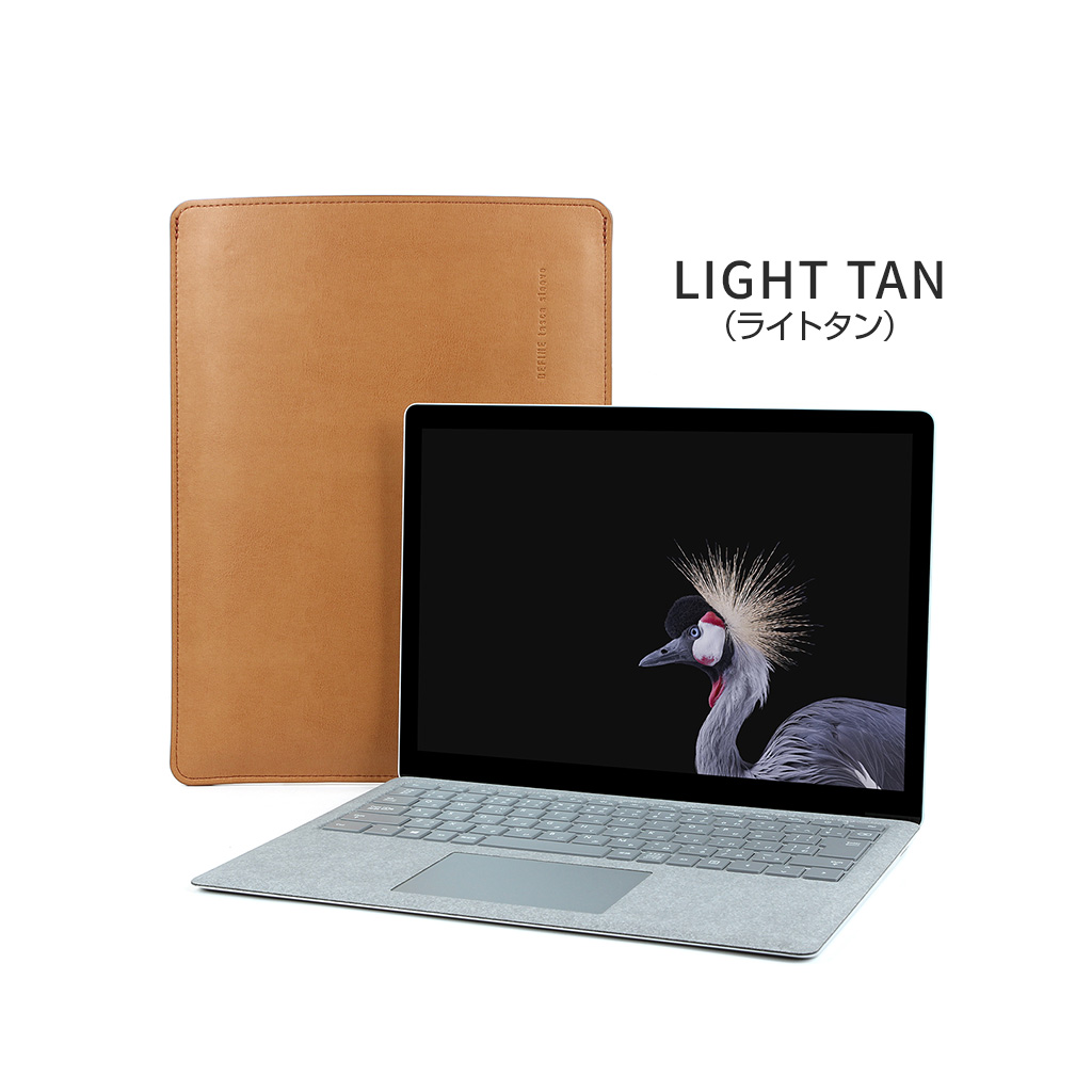 Surface Laptop tasca sleeve ブラック/グレー